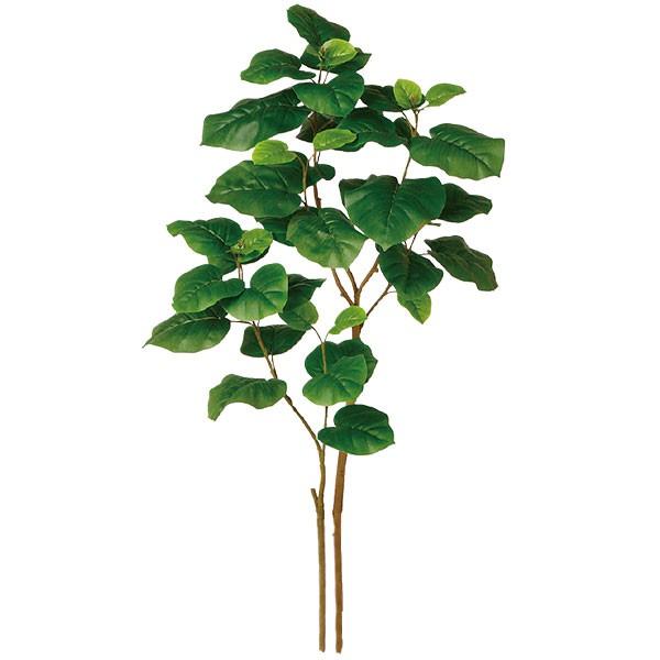 人工観葉植物 全高1.2m NEW ウンベラータ 二本立 FST フィカス ウンベラタ 人工樹木 造花 花材 フェイクグリーン インテリアグリーン オブジェ ディスプレイ 装飾