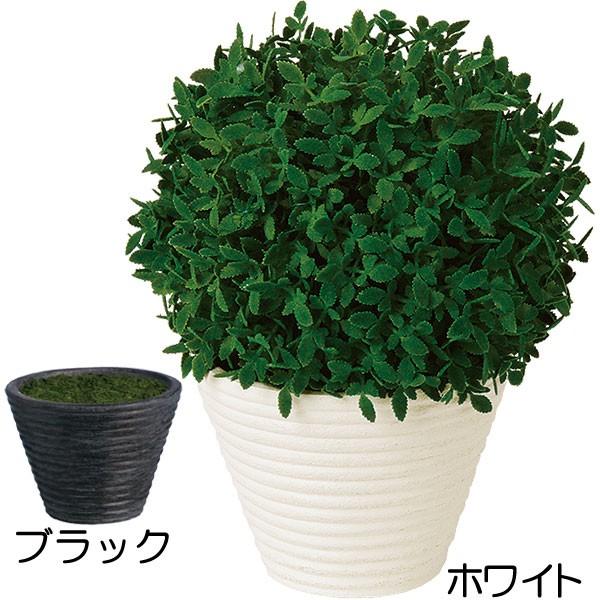 人工観葉植物 全高27cm 鉢付き ボールポット 森 カジュアルポット 卓上グリーン インテリアグリーン フェイクグリーン 人工樹木 造花 花材 オブジェ ディスプレイ 装飾