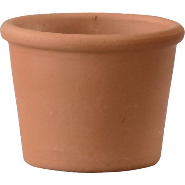 植木鉢 テラコッタ トスカーナ シリンダーポット14 24個セット 全高10.5cm×直径14cm 底穴あり イタリア製 赤土 素焼き 陶器製 プランター ポット 園芸 ガーデニング