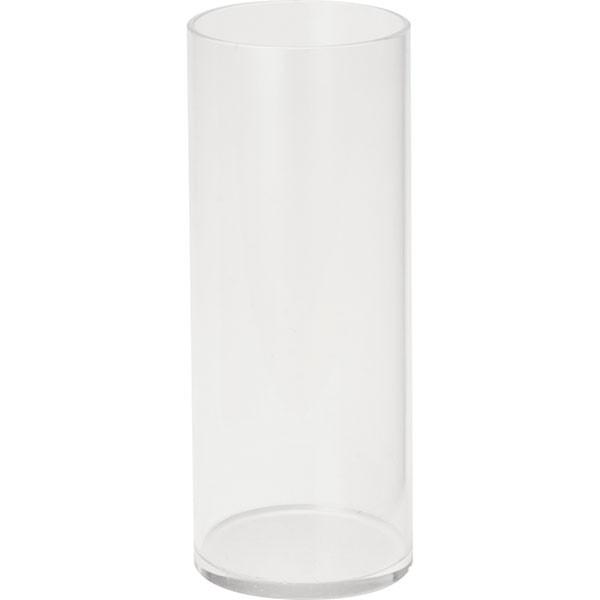 花器 アクリル ラウンドポット M 6個セット 全高22.5cm×直径9cm 筒形 筒型 シリンダー 円柱 アクリル製 フラワーベース 花瓶 花入れ フラワーアレンジメント ディスプレイ 装飾