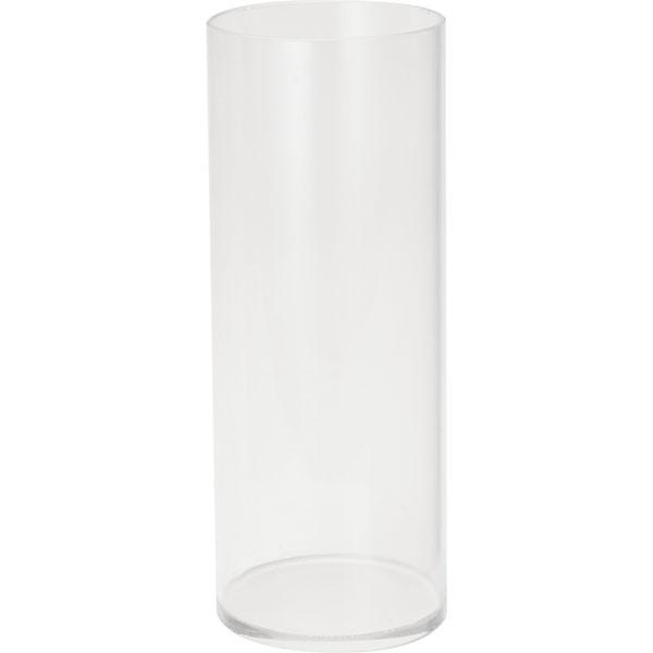 花器・アクリル・ラウンドポット・L・6個セット(全高28.5cm×直径11cm)(筒形/筒型/シリンダー/円柱)(アクリル製)(フラワーベース/花瓶/花入れ)(フラワーアレンジメント/ディスプレイ/装飾)