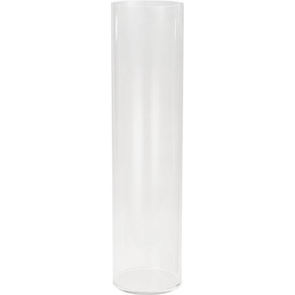 衝撃に強く 軽くて持ち運びしやすい透明度抜群のアクリルポット 花器 アクリル ラウンドポット 3L 2個セット 全高60cm×直径15cm 筒形 筒型 秀逸 アクリル製 ディスプレイ 花入れ フラワーベース シリンダー 花瓶 円柱 装飾 公式通販 フラワーアレンジメント