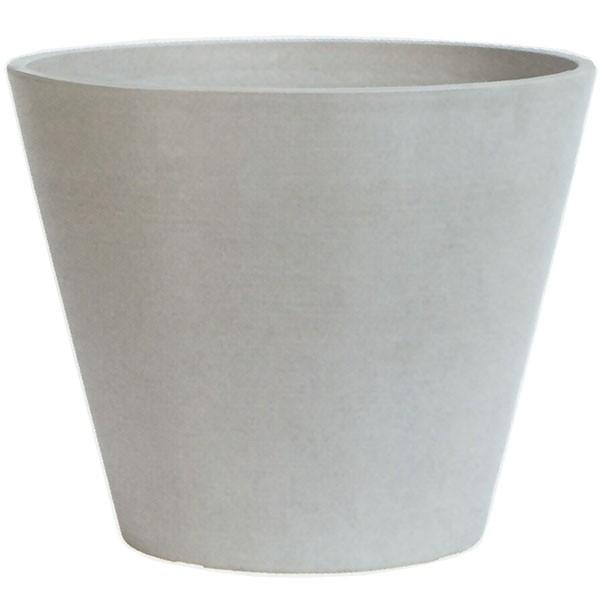 鉢カバー GW11-60CM ホワイト 15号用 全高49cm×直径60cm 底穴なし PP ポリプロピレン 石粉 木粉 プランター ポット 観葉鉢 園芸 寄せ植え