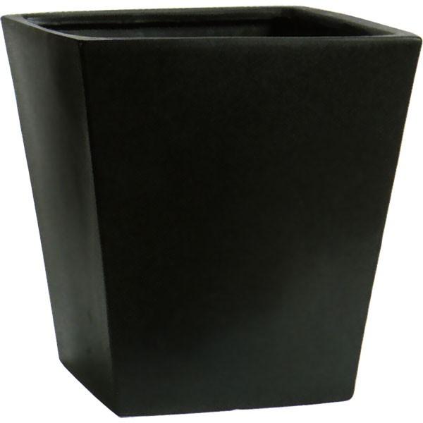 植木鉢 MP01LB ブラック 13号 全高42cm×口40cm 底穴あり 陶器製 イコミ製法 軽量プランター ポット 観葉鉢 園芸 寄せ植え