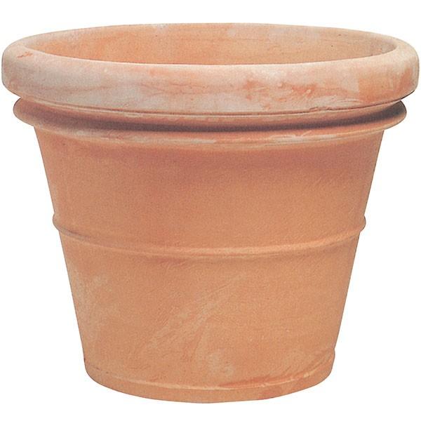 植木鉢 テラコッタ ベノッチ リムポット112 大型 37号 全高90cm×直径112cm 底穴あり イタリア製 素焼き 陶器製 プランター ポット