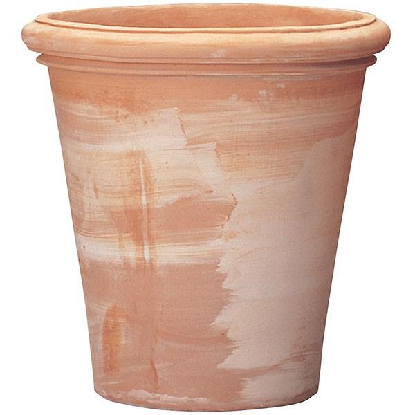 植木鉢 テラコッタ ベノッチ アルトポット50 17号 全高54cm×直径50cm 底穴あり イタリア製 素焼き 陶器製 プランター ポット 鉢 園芸