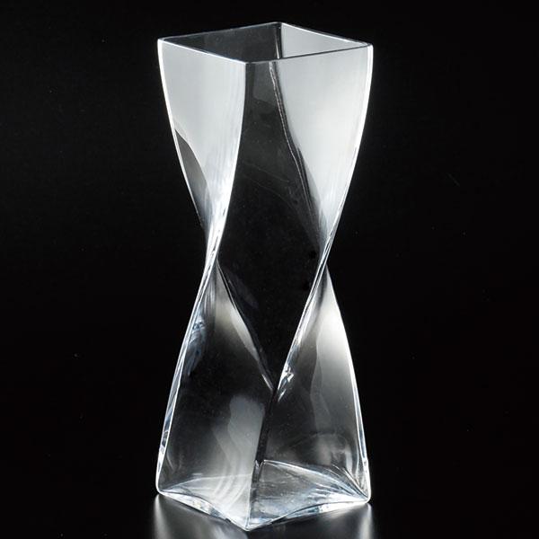 国産品 ガラス花器 全高30cm×口10cm 硝子 ガラス 透明 花器 花瓶 花入れ フラワーベース インテリアガラス フラワーアレンジメント ディスプレイ
