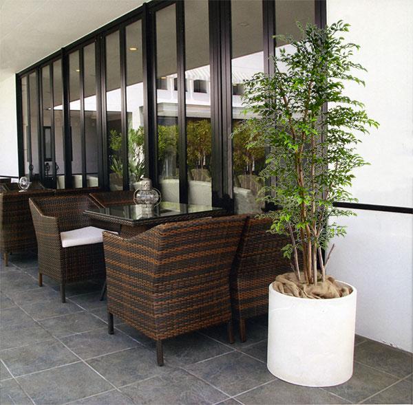 格安販売中 ディスプレイ)(商品番号:bst0004b-120):グリーンランド (フェイクグリーン 全高1.2m 屋外対応 室内可 外用 ベンジャミン 造花 ミニフィカス 樹木 屋外用 アウトドア 野外 装飾-花・観葉植物