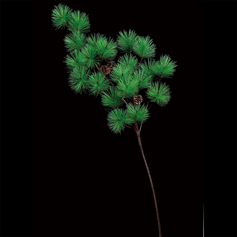 新品 繊細で深い緑色が魅力 和風演出に欠かせない松の人工観葉植物 松の葉 人工観葉植物 全長124cm まつ 高級品 パイン フェイクグリーン インテリアグリーン 人工樹木 造花 マツ