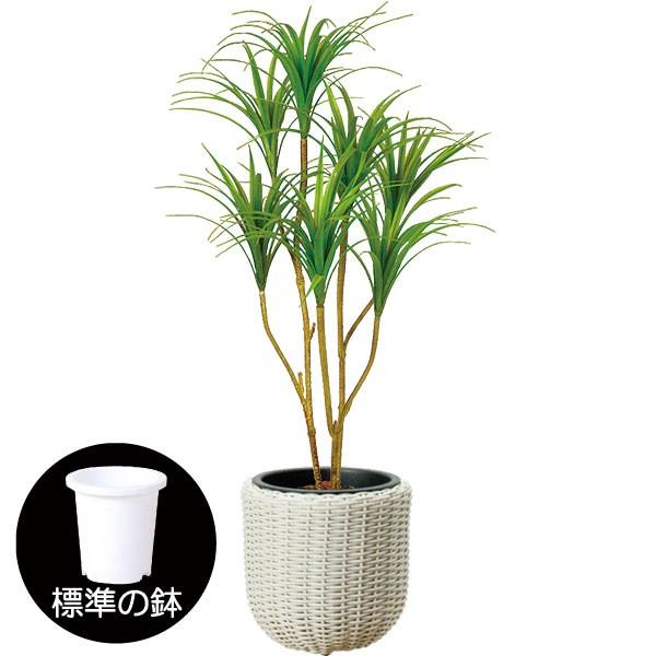 人工観葉植物 全高1.2m ドラセナ コンシンナ コンシンネ 人工樹木 造花 フェイクグリーン インテリアグリーン オブジェ ディスプレイ 装飾