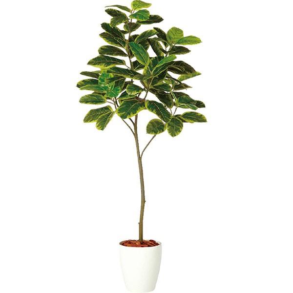 人工観葉植物 全高1.8m フィカス アルテシマ ホワイト鉢 FST アルティッシマ 人工樹木 造花 花材 リーフ 葉材 インテリアグリーン フェイクグリーン オブジェ ディスプレイ ディスプレー 装飾