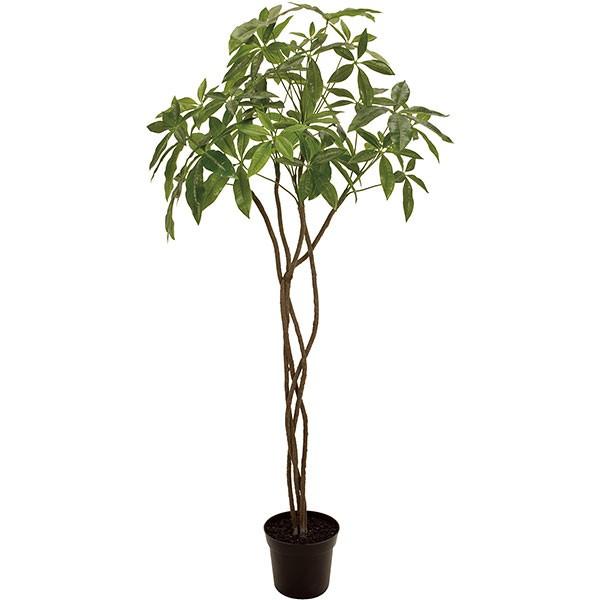 人工観葉植物 全高1.5m パキラ (人工樹木 造花 フェイクグリーン インテリアグリーン)