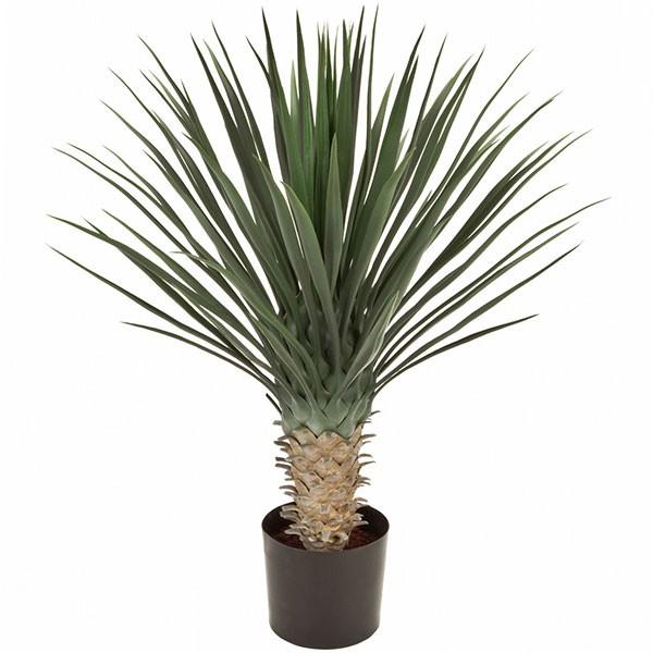 人工観葉植物 全高80cm ドラセナ ユッカ ロストラータ 人工樹木 造花 フェイクグリーン インテリアグリーン オブジェ ディスプレイ 装飾
