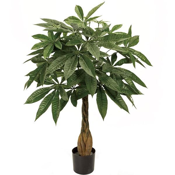 人工観葉植物 全高85cm パキラ アクアティカ カイエンナッツ 発財樹 幸運の木 人工樹木 造花 フェイクグリーン インテリアグリーン オブジェ ディスプレー ディスプレイ 装飾