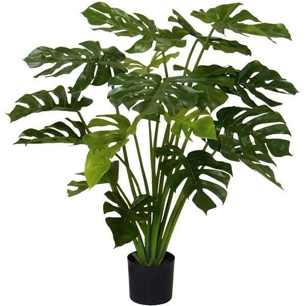 人工観葉植物 全高1.0m モンステラ ホウライショウ 鳳来蕉 人工樹木 造花 フェイクグリーン インテリアグリーン オブジェ ディスプレイ 装飾