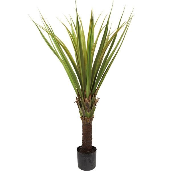 人工観葉植物 全高1.55m ドラセナ ユッカ ロストラータ 人工樹木 造花 フェイクグリーン インテリアグリーン オブジェ ディスプレイ 装飾
