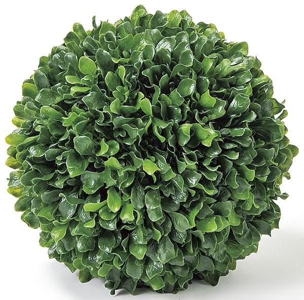 人工観葉植物 直径34cm グリーンボール ボックスウッド セイヨウツゲ 造花 アーティフィシャルフラワー 花材 葉材 インテリアグリーン フェイクグリーン オブジェ フラワーアレンジメント ディスプレイ 装飾