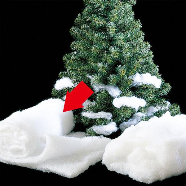 ソフトスノーブランケット 2パックセット 1パックの敷き詰め面積約80cm×80cm 雪の演出 ツリーデコレーション クリスマス アレンジ
