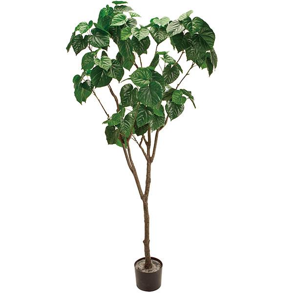 人工観葉植物 全高1.8m フィドル 人工樹木 造花 フェイクグリーン インテリアグリーン オブジェ ディスプレイ ディスプレー 装飾