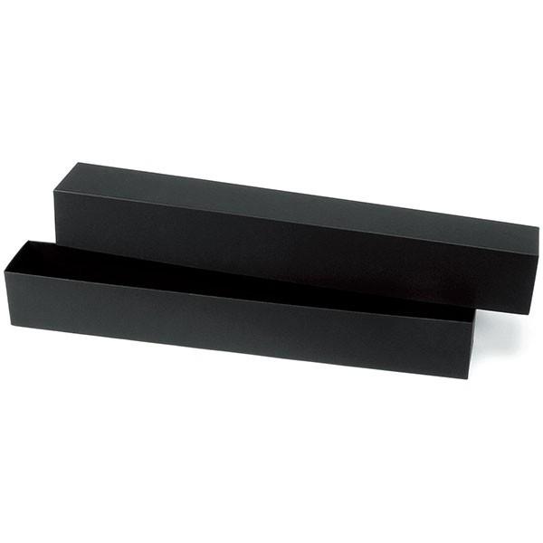 ギフトやインテリアに人気 紙製のボックスベース 花器 3個セット 全長62cm×口8cm 横長 箱 はこ 購入 ギフトアレンジ ボックス 花入れ 未使用 フラワーベース ボックスアレンジ 紙製 フラワーボックス