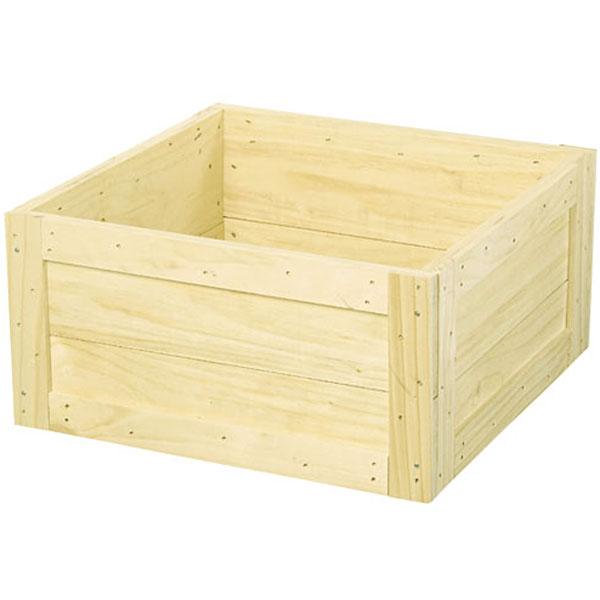 鉢カバー ウッドツリーベースL ナチュラル 全高29.5cm×口59.5cm 底板なし 木製 ツリーデコレーション クリスマスツリー 足元隠し