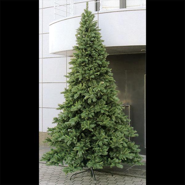 クリスマスツリー 特大 大型 全高365cm 人工観葉植物 人工樹木 造花 フェイクグリーン インテリアグリーン オブジェ ディスプレイ 装飾
