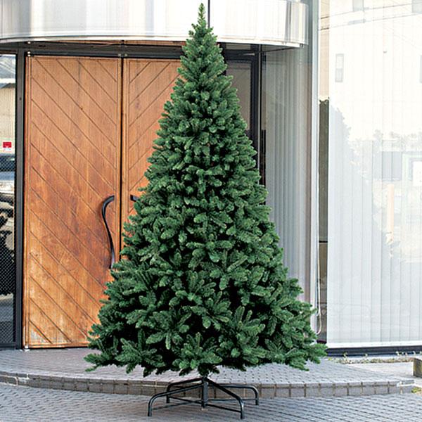 クリスマスツリー 特大 大型 全高280cm 人工観葉植物 人工樹木 造花 フェイクグリーン インテリアグリーン オブジェ ディスプレイ 装飾