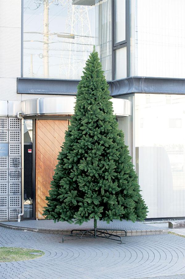 クリスマスツリー 特大 大型 全高400cm 人工観葉植物 人工樹木 造花 フェイクグリーン インテリアグリーン オブジェ ディスプレイ 装飾