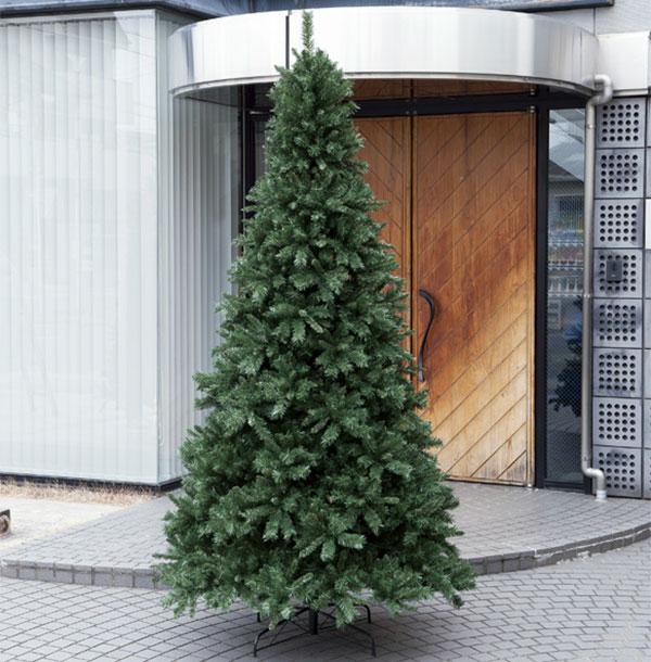 クリスマスツリー 特大 大型 全高270cm 人工観葉植物 人工樹木 造花 フェイクグリーン インテリアグリーン オブジェ ディスプレイ 装飾