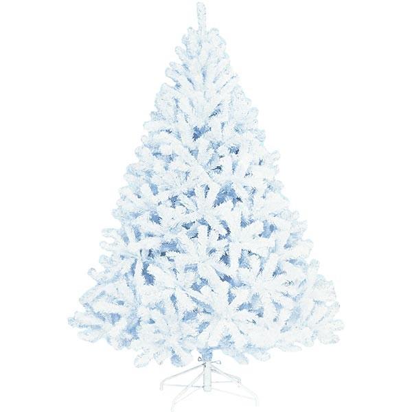クリスマスツリー ホワイトツリー 全高210cm 人工観葉植物 人工樹木 造花 フェイクグリーン インテリアグリーン オブジェ ディスプレイ 装飾