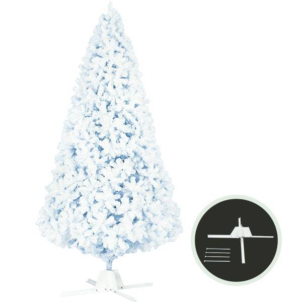 クリスマスツリー ホワイトツリー 全高450cm 人工観葉植物 人工樹木 造花 フェイクグリーン インテリアグリーン オブジェ ディスプレイ 装飾