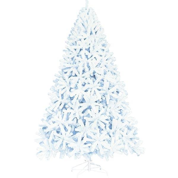 クリスマスツリー ホワイトツリー 全高300cm 人工観葉植物 人工樹木 造花 フェイクグリーン インテリアグリーン オブジェ ディスプレイ 装飾