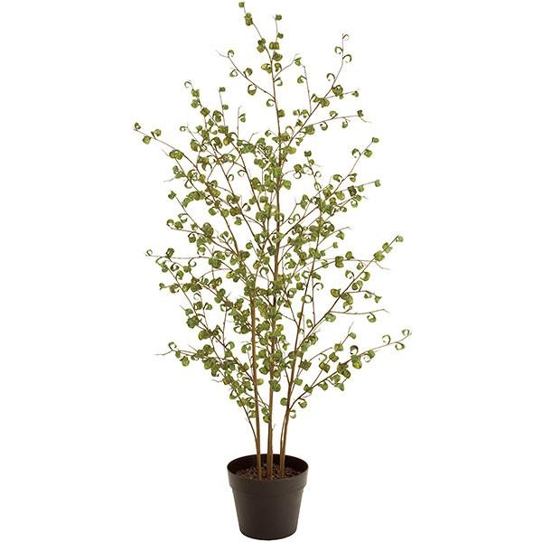 人工観葉植物 全高1.2m バロック ベンジャミン (フィカス工樹木 造花 フェイクグリーン インテリアグリーン)
