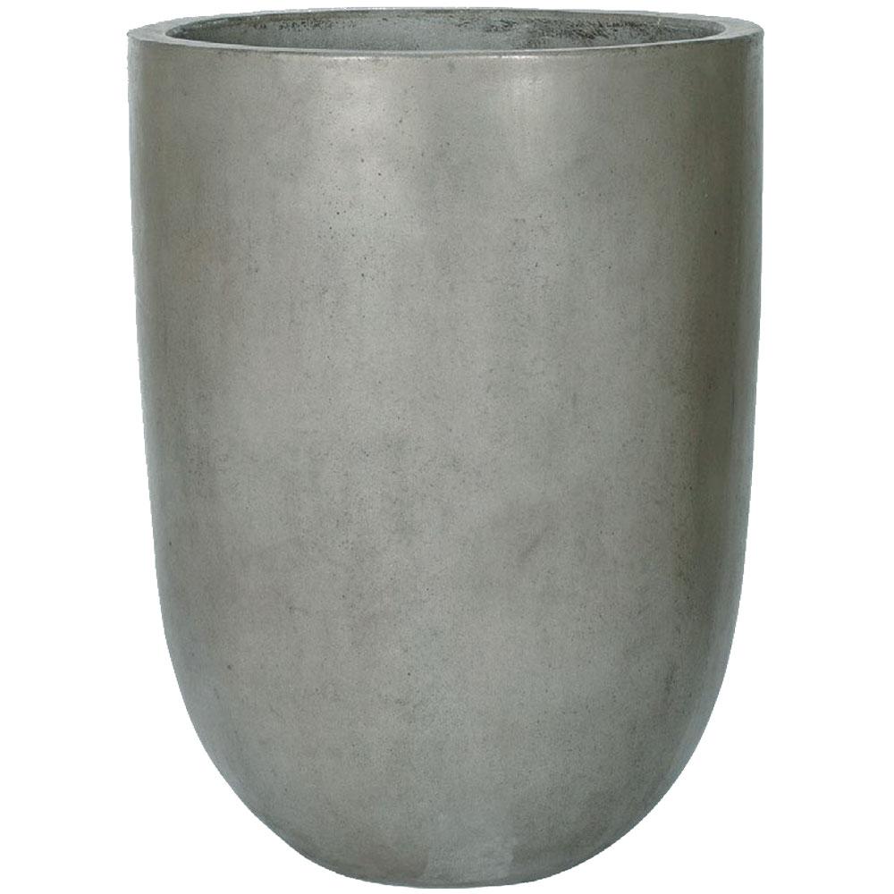 植木鉢 GH007-45cm 15号 全高60cm×直径45cm 底穴あり ジュートファイバー麻の繊維 石粉 セメント プランター ポット 園芸 ガーデニング 寄せ植え