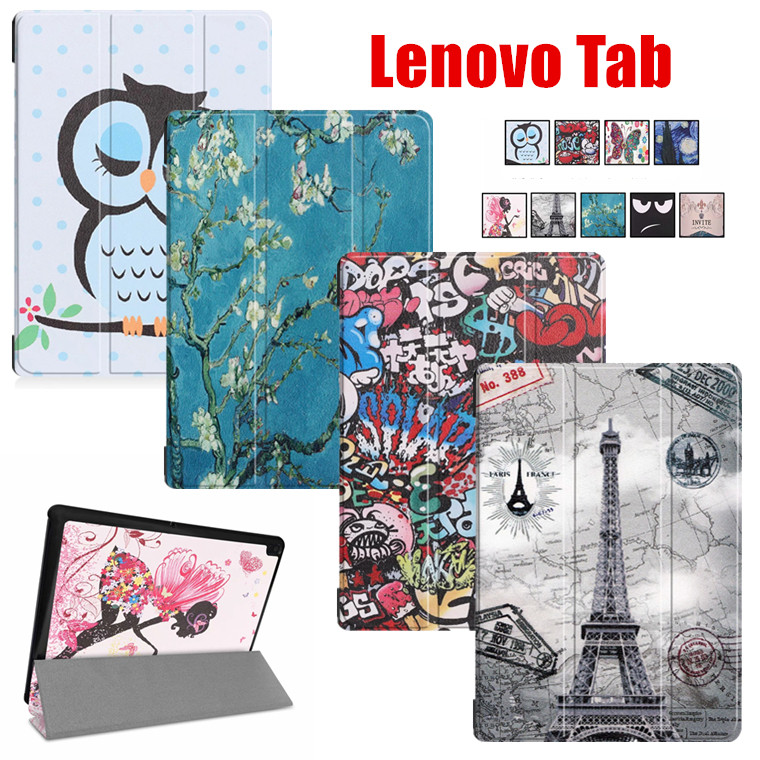 Lenovo Tab M10 HD 2nd gen ケース lenovo tab m10 いよいよ人気ブランド fhd 手帳型 新品 薄型 軽量 三つ折り かわいい カバー スタンド機能 hd plus レノボ オートスリープ機能