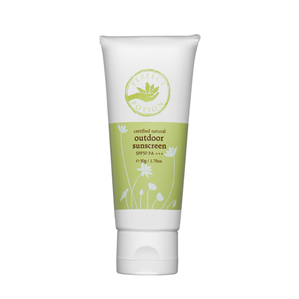 Perfect portion outdoor sunscreen SPF50 PA+++ (PERFECT POTION/ organic cosmetics / non chemical /UV/ sunscreen /UV cut /UV care / sunscreen / organic / aroma /4528636002572)