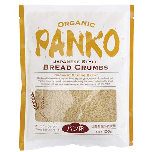 有機天然酵母パン使用 サクサクした食感 砂糖・添加物不使用 オーガニックパン粉 100g ow jn