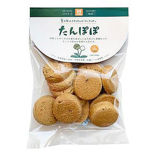 国内産小麦をつかった手作りクッキー オーサワ 割り引き ナチュラルクッキー たんぽぽ 80g jn ow 安売り