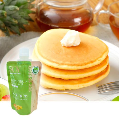 クリーミーですっきりとした味わい からだに優しい クール便送料別途 豆乳クリームバター〔プレーン〕 100g 植物性 ヴィーガンスプレッド rt 日本正規品 通信販売