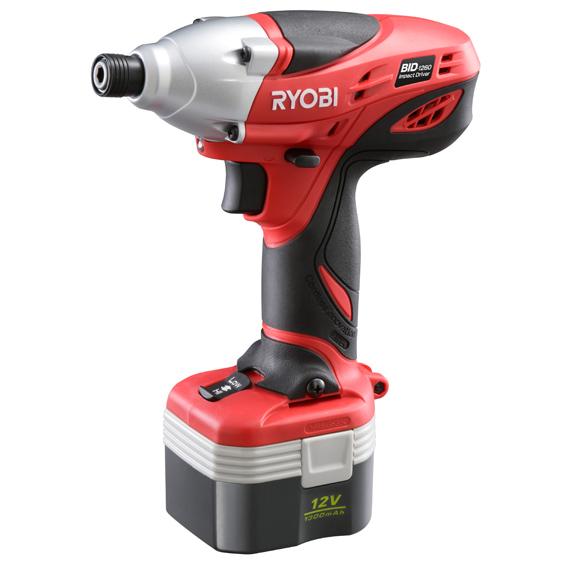 【送料無料】 リョービ/RYOBI 充電式インパクトドライバ BID-1260 658425A【取寄せ品】