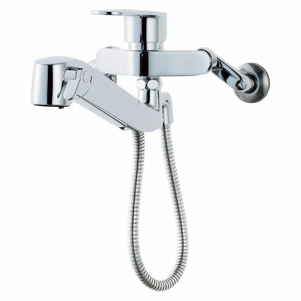 【送料無料】LIXIL(リクシル) INAX キッチン用 壁付浄水器内蔵シングルレバー混合水栓 RJF-865Y
