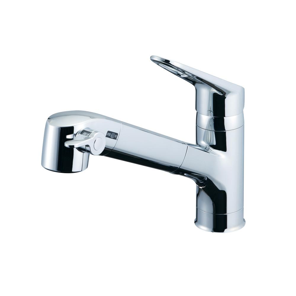 【送料無料】LIXIL(リクシル) INAX ハンドシャワー付浄水器内蔵型シングルレバー混合水栓 寒冷地用 RJF-771YN