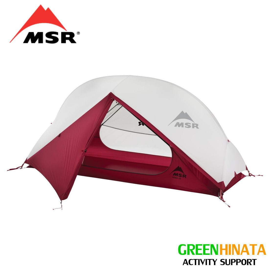 【国内正規品】 エムエスアール テント ハバ NX 19 1人用テント MSR HUBBA NX 2019 UPDATE MODEL