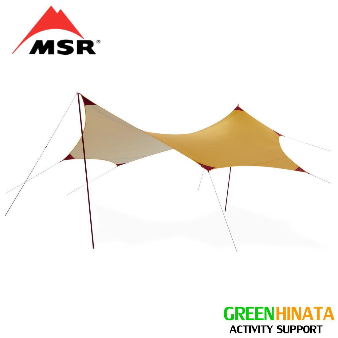 【国内正規品】 エムエスアール ランデブーサンシールド 200ウィング タープ MSR Rendezvous Sun Shield 200 2019 UPDATE MODEL