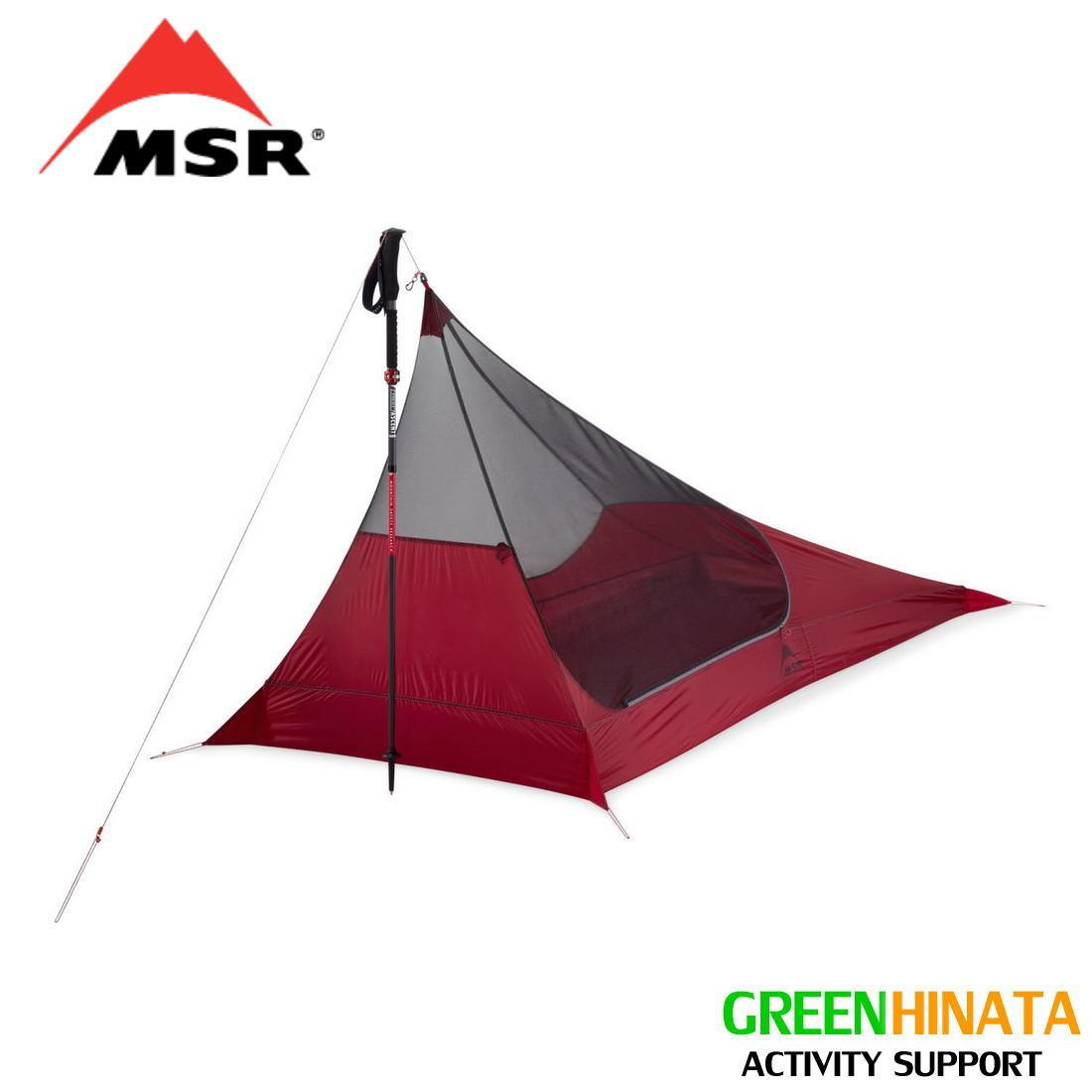 【国内正規品】 エムエスアール スルーハイカー メッシュハウス1 2019 1人用テント MSR Thru-Hiker Mesh House 1 Trekking Pole Shelter 2019 UPDATE MODEL