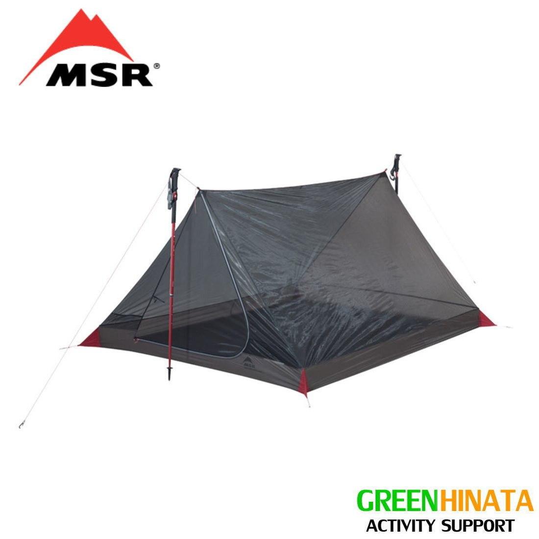 【国内正規品】 エムエスアール スルーハイカーメッシュハウス3 3人用テント MSR Thru-Hiker Mesh House 3 Trekking Pole Shelter 37020