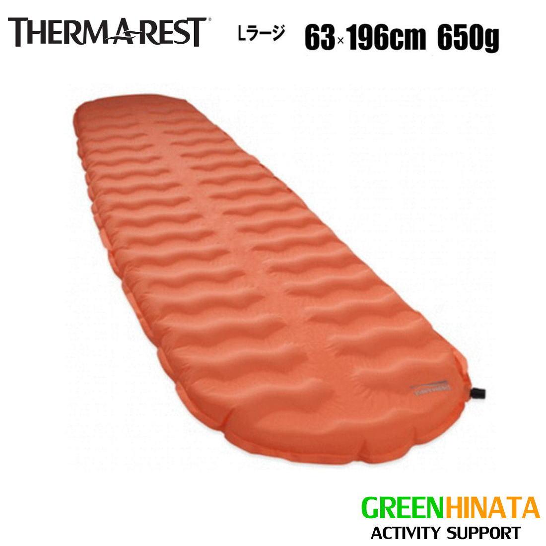 【国内正規品】 サーマレスト エボライトL 自動膨張式マットレス THERMAREST EVOLITE Lラージ