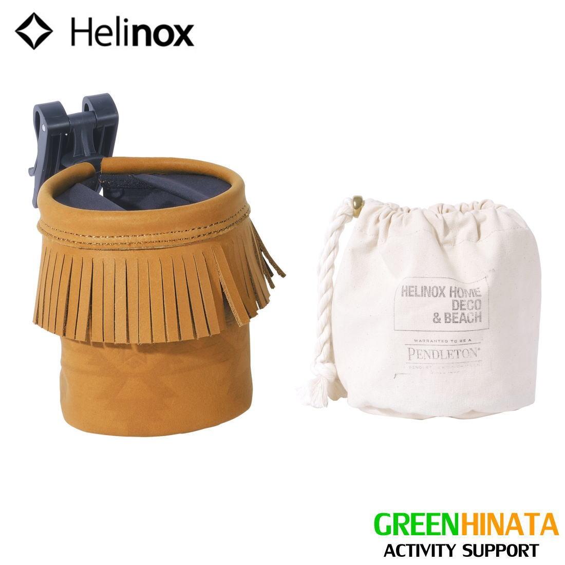 【国内正規品 Holder】 ヘリノックス ペンドルトン レザーカップホルダー 折りたたみ椅子 HELINOX HELINOX Pendleton × × Helinox Leather Cup Holder, ジュークボックス:c95ccbd9 --- data.gd.no