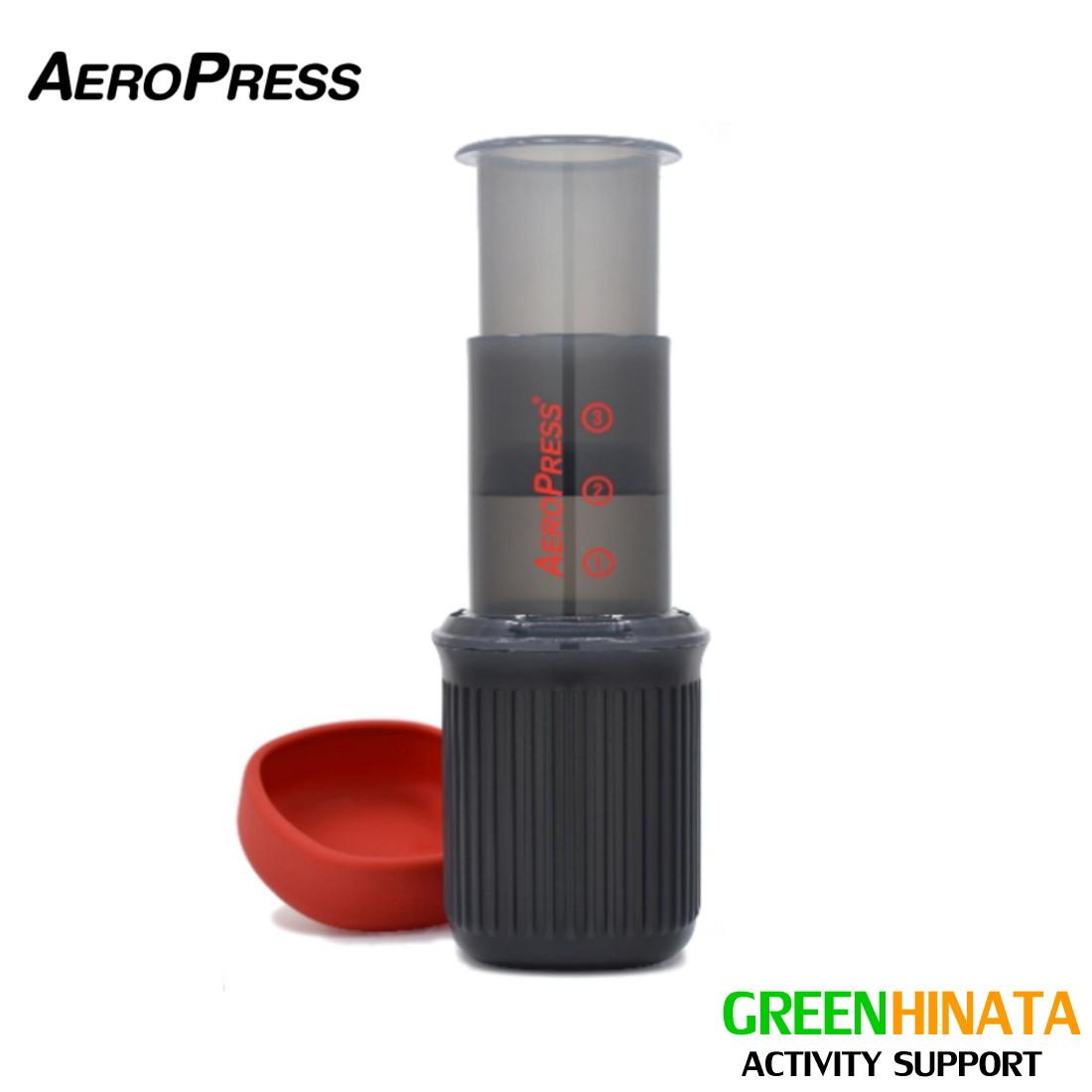 有名な 国内正規品 AeroPress エアロプレス Go Coffee Maker 日本未発売 ゴー コーヒーメーカー コーヒーミル用 手挽き 珈琲豆用