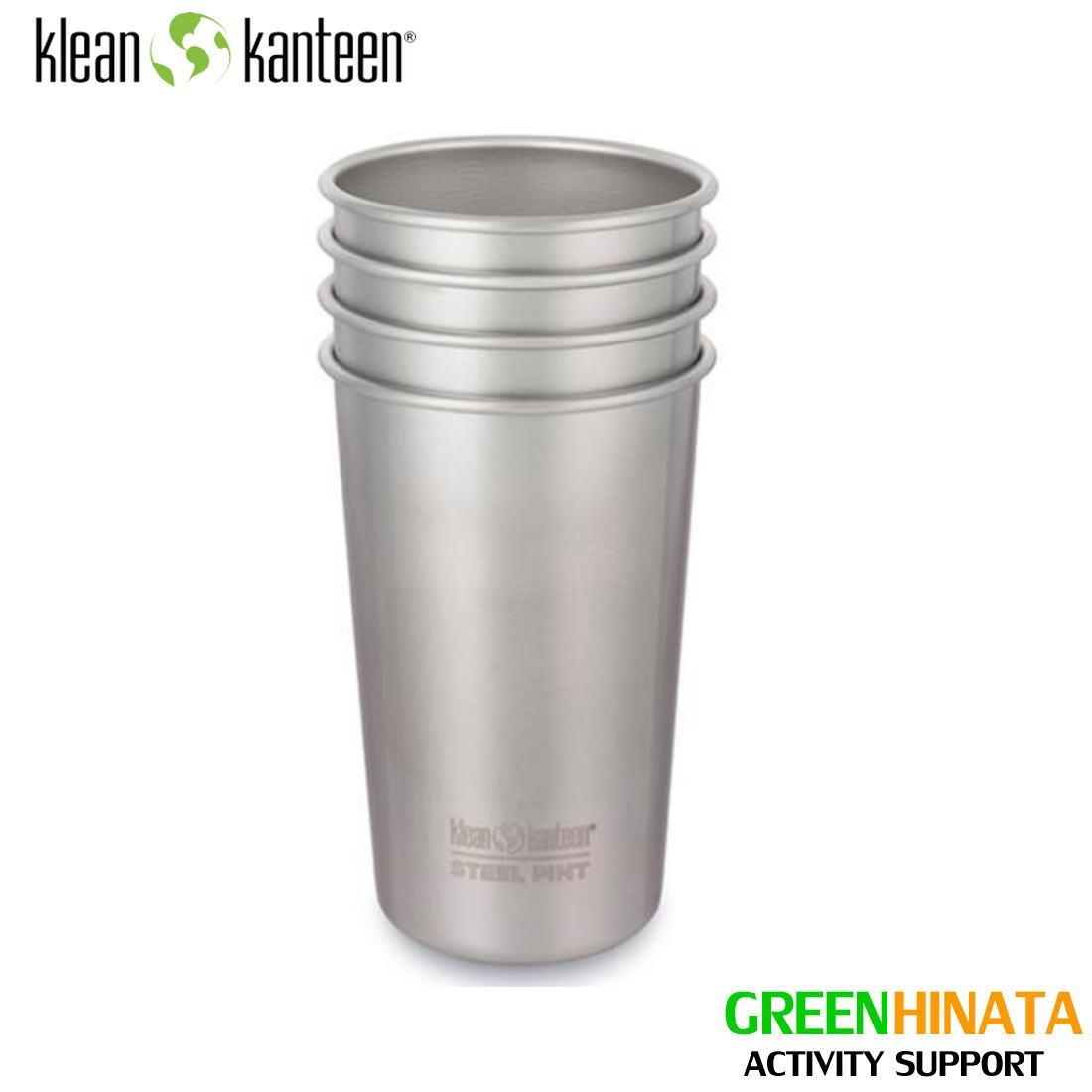 正規品 商店 KLEANKANTEEN 送料無料 国内正規品 クリーンカンティーン パイントカップ 16oz 4個セット 実用的 Cup 売れ筋 ギフト 父の日 コップ プレゼント Pint